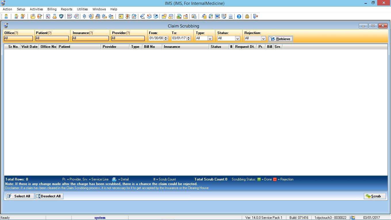 Internal Medicine EMR Software Advanced Clinical Editor