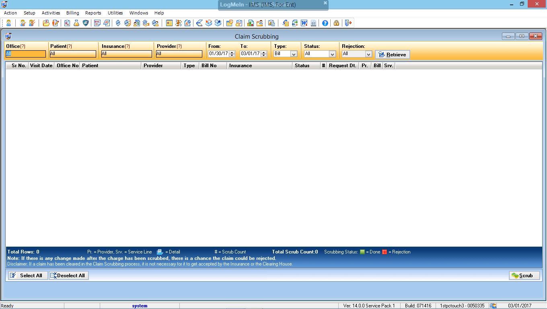 Otorhinolaryngology EMR Software Advanced Clinical Editor