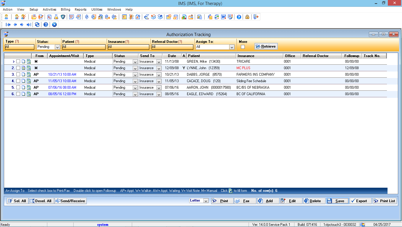 Physical Therapy EMR Software Referral Tracking