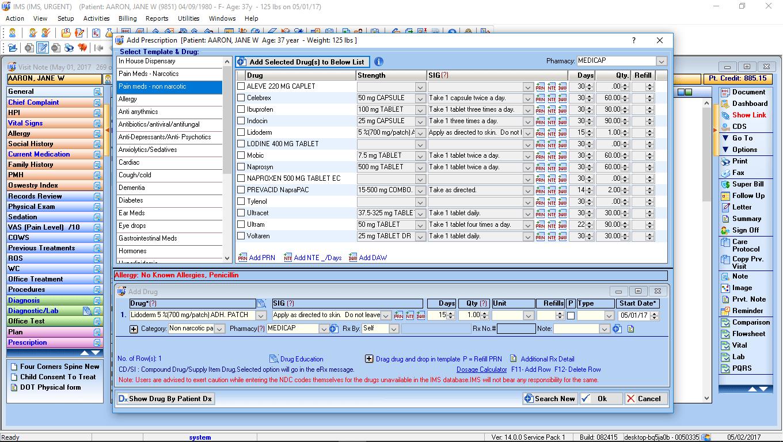 Urgent Care EMR Software ERX