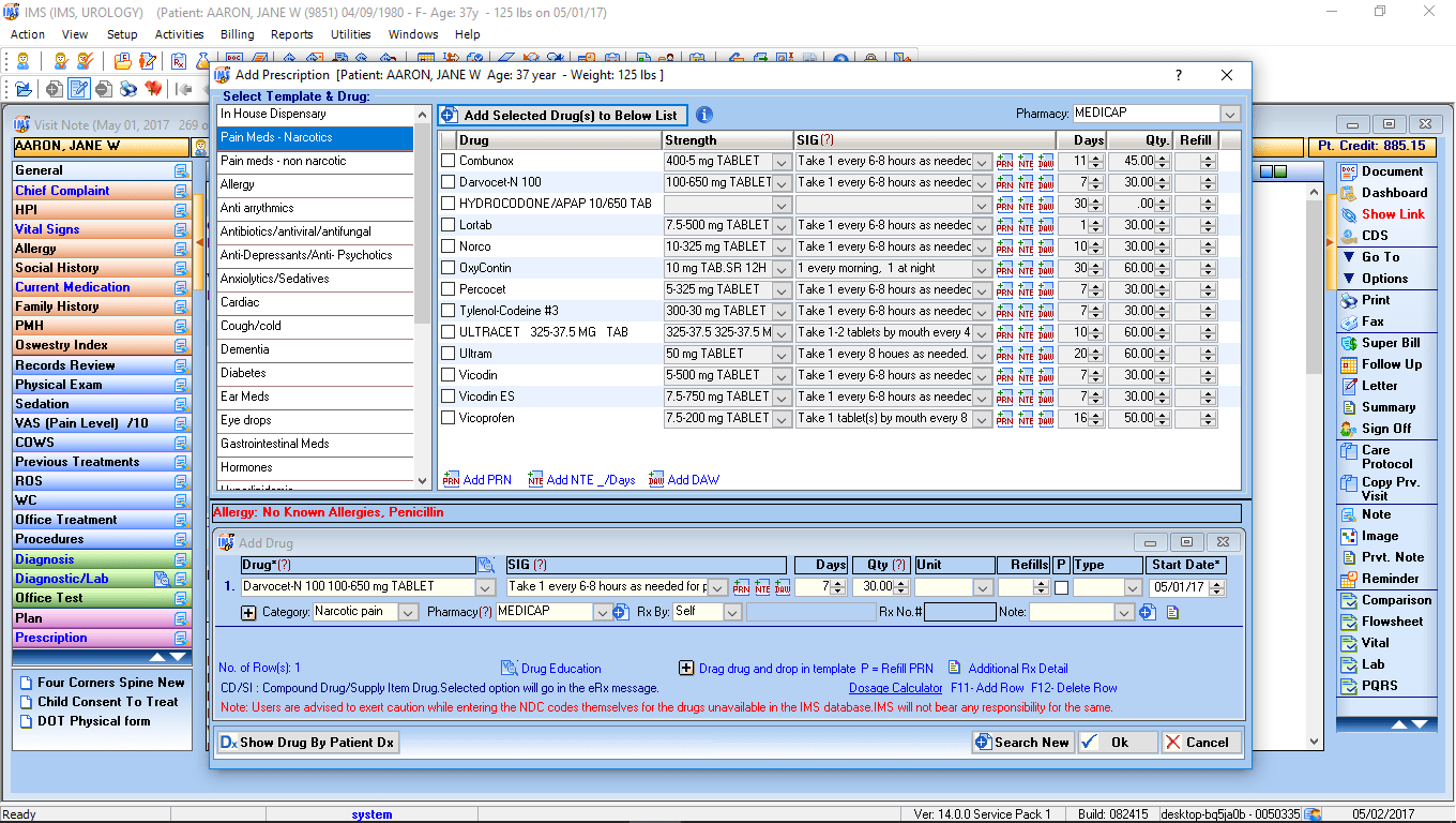 Urology EMR Software ERX