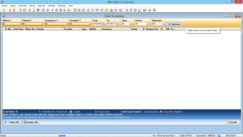 Vascular Surgery EMR Software Advanced Clinical Editor