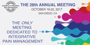 28th Annual Integrative Pain Management Meeting