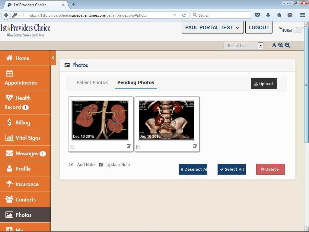 Internal Medicine Patient Portal Patient Photos