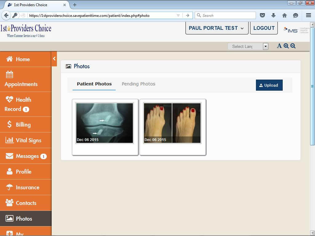 Mental Health Patient Portal Patient Photos