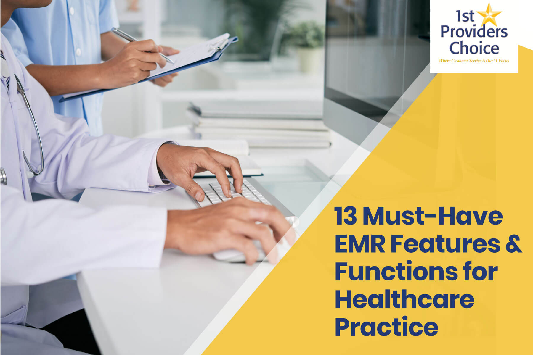 emr features and functions for healthcare practice