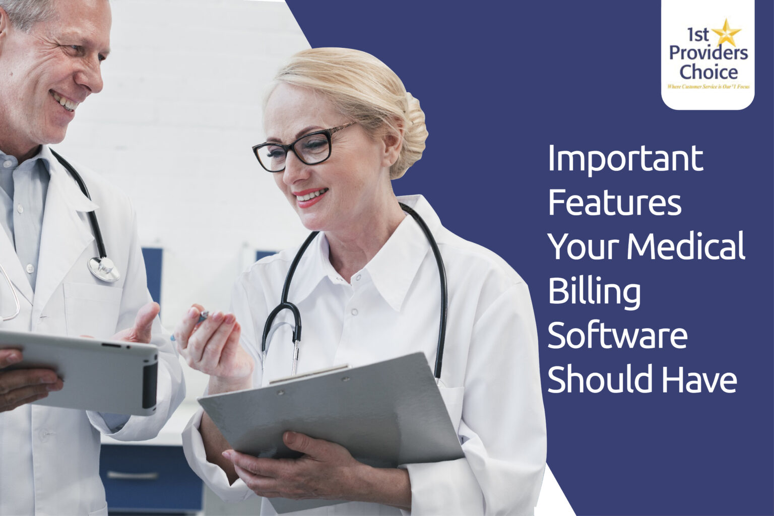 medical billing software features
