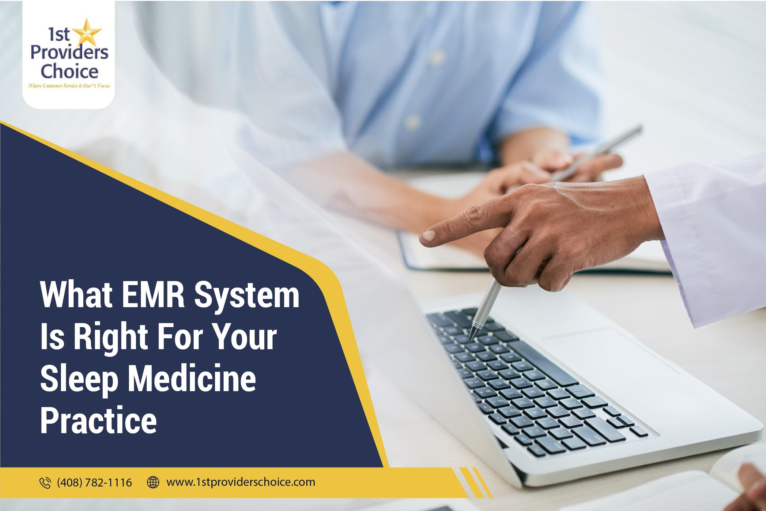 EMR Sleep Medicine
