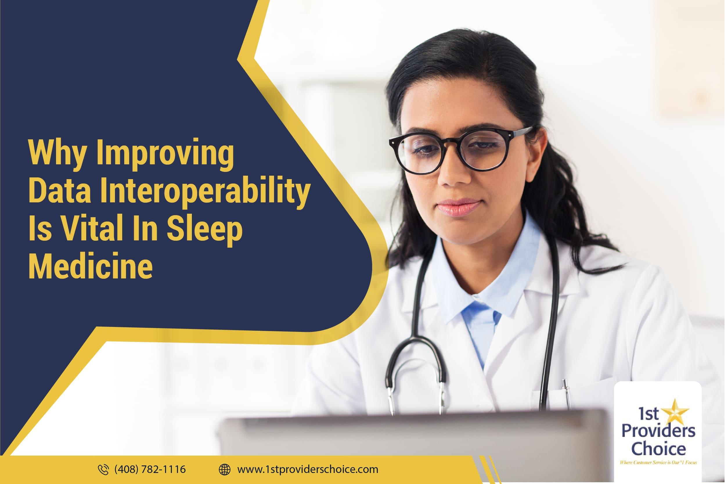 Data Interoperability Sleep Medicine